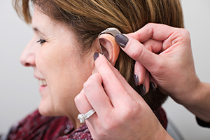 Hearing Aid At Work